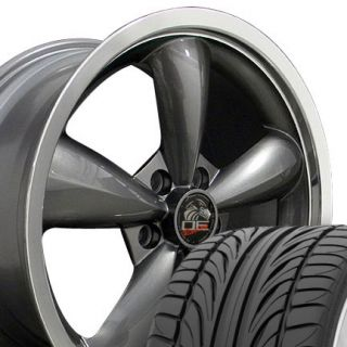 "20"" Bullet Rims Fit Mustang® GT Bullitt Deep Dish Wheels Falken Tires '05 Up"