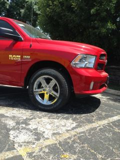 "Dodge RAM 1500 20"" Wheels and Tires RAM Original Wheels and Tires"