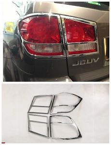 ABS Chrome Rear Light Tail Light Lamp Cover Trim for 2013 Dodge Journey New