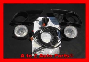 New 2011 2013 Dodge Charger R T Fog Lights Complete Fog Lamp Kit OEM Mopar