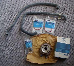 New Old Stock Ford Engine Oil Cooler Kit Police Mustang Special Service Package