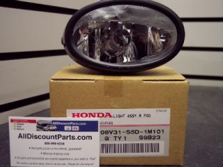 Honda Replacement Passenger Right Side Fog Light Lamp Accord Civic CRV Fit