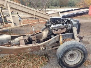 Power Wagon Dodge 360 Engine w 727 Trans 203 Transfercase 70K Original Miles