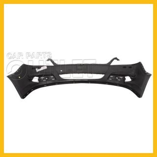2007 2010 Saturn Aura Front Bumper Cover Primered Black Plastic Facial Fog Holes