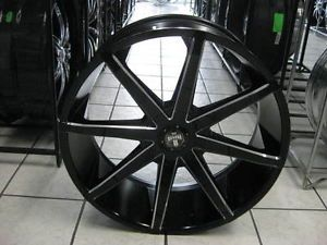 "24"" Dub Push New Wheel Tire MOZ Lexani 26 MHT Forgiato asanti Giovanna 22 Fuel"