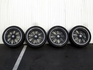 "22"" asanti AF132 Black Range Rover Supercharged BMW x5 20 HRE Wheels 24"