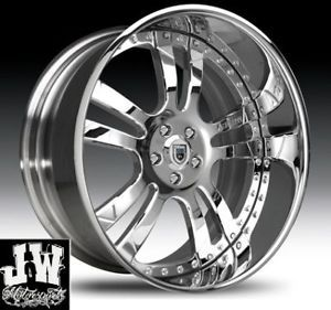 "24"" inch asanti AF 142 Wheels Chevy Ford GMC Escalade"