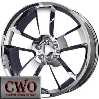 20 Chrome Replica Challenger Wheels Rims 5x115 5 Lug Charger Challenger 300 300C