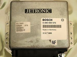 Volvo 240 740 Engine Control Unit ECU 0 280 000 572 Electronic PCM LH 2 4