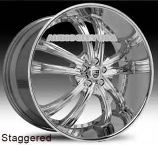 "22"" Lexani LSS55 CH for Land Range Rover Wheels and Tires Rims HSE Sports"