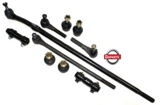 Ford F150 F250 F350 4x2 4x4 1980 1996 3 Tie Rods 1 Center Link 4 Ball Joints
