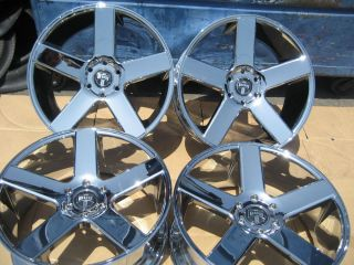 "22"" Dub Baller Chrome Wheels Rims Chevy GM asanti Lexani Velocity Forgiato"