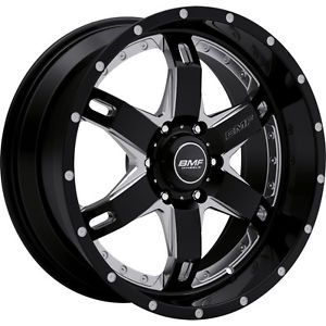 20x9 Black BMF Repr 6x5 5 0 Wheels Nitto Mud Grappler 37x13 50R20LT Tires
