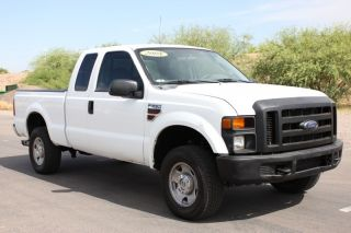 F250 Super Cab 4WD Short Bed Extra Cab Automatic DSL SRW Runs Great Rust Free AZ