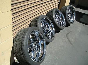 Set of Lowenhart LSR Wheels Nitto N555 Tires 20x9 20x11 5x120mm BMW'S