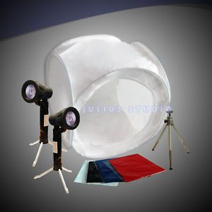 Julius Studio Photo Light Lighting Kit Photo Tent w Mini Camera Tripod JTK106