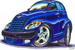 BH130 T Shirt Hot Rod PT Cruiser Custom Car Art Apparel