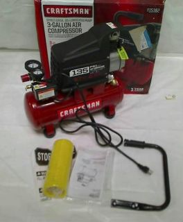 Craftsman 3 Gallon Portable Air Compressor