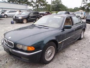 99 00 01 BMW BMW 740i Engine 4 4L DH0259