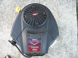 Briggs Stratton 20 HP Intek V Twin Cylinder Engine w Cast Iron Sleeves