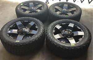 Rockstar Rims Tires Wheels 285 50R20 Nitto Terra Grappler All Terrain