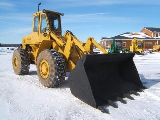 Fiat Allis 745 Farm Wheel Loader
