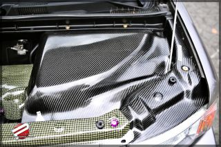 Password JDM Dry Carbon Fiber Engine Compartment Covers 04 07 Scion XB