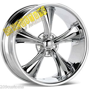 "22"" inch Boss Wheels 338 Chrome Rims Tires Explorer Ranger Marquis Marauder"