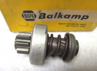 5 Napa Balkamp Rebuilt Starter Drives in Boxes