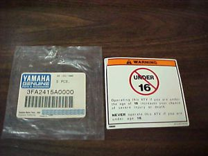 Yamaha Banshee Front Wheel Bearings