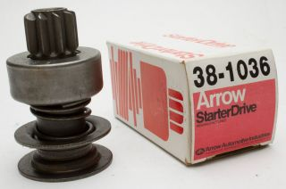Arrow Starter Drive 38 1036 Remanufactured