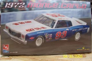 Model Kit 21876P 1972 Monte Carlo Stock Car L E gms Customs Hobby Outlet 1 25