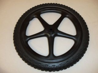 Rubbermaid M1564200 Replacement 5 Spoke Wheel Tire for 5642 Big Wheel Cart New