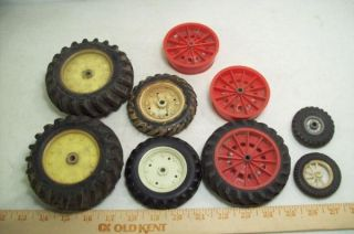 Vintage Toy Truck Tires Wheels for Parts Restore Structo Unknown