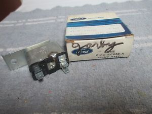D1AZ 10C838 A Ford Mercury Lincoln Warning Lamp Relay Parts 1971 1972 1973