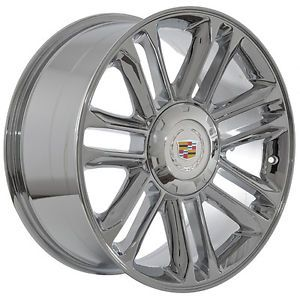 "20"" inch Cadillac Escalade Platinum Chrome Wheels Rims"