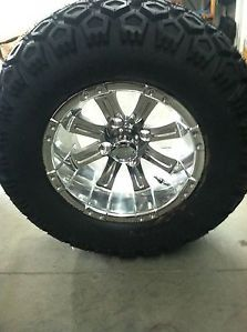 "Yamaha Golf Cart Part 12"" Wheel Tire Assembly for Lifted Carts"