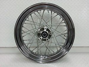 "Harley Davidson 16"" Chrome Rear Wheel Spoke FXST Softail 40951 82"