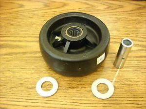 John Deere Lawn Mower Deck Roller Wheel Tire AM104126