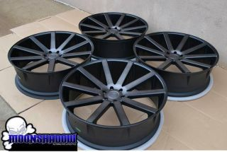 "28"" Dub Shot Calla Wheels Rims GM Cadillac Escalade Chevy Tahoe 28x10 Black"