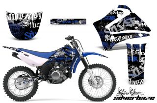 AMR Racing Off Road Graphic Motorcycle Sticker MX Wrap Yamaha TTR 125 00 07 Shuk