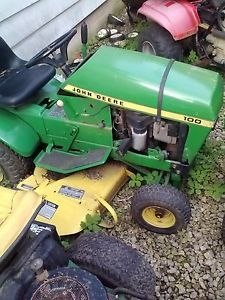 Used John Deere Riding Mower Parts