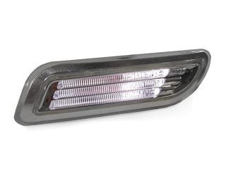 Free SHIP 98 02 Mercedes W208 CLK Clear Bumper White LED Light Bar Side Marker