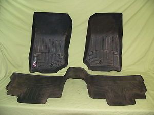WeatherTech Floor Mats Jeep Wrangler Unlimited 2007 2012 441052 Front Rear Set