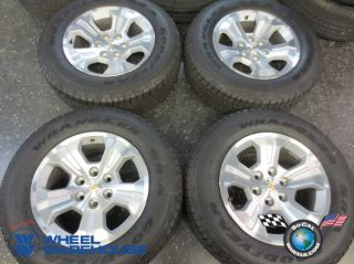 "2014 Chevy Silverado LTZ Factory 18"" Wheels Tires Rims Avalanche Tahoe 1500"