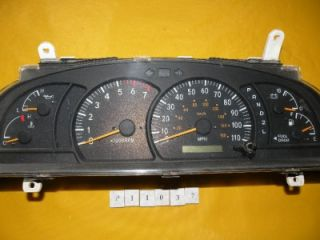 00 01 02 Tundra 2000 2001 2002 Speedometer Instrument Cluster Dash Panel 206 786
