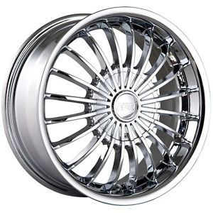 16 inch MPW MP501 Chrome Wheels Rims 5x100 Matrix Prius Beetle Golf GTI Jetta