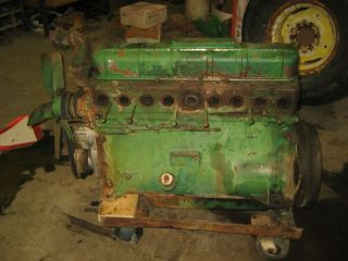 Oliver 77 770 Farm Tractor Engine Motor