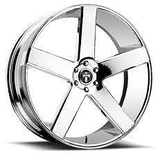 "28"" Dub Lite Baller S115 Wheel Set 28x10 Dub Chrome Baller 28inch Rims"