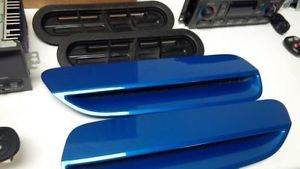 08 09 Pontiac G8 GT Front Hood Scoops Vents RAM Air Pair